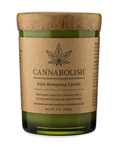 Cannabolish – Smoke Odor Removing Candle | CANNABIS PRODUCTS