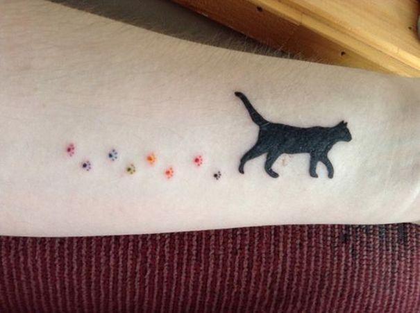 cats to make you happy tatoos
