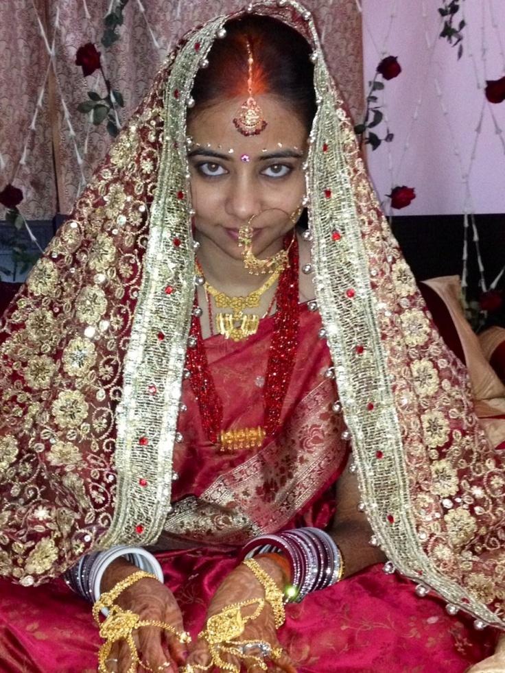 Motihari, India Bride Prepared For First Night Of Marriage  Fun----Weddings  Wedding -3157