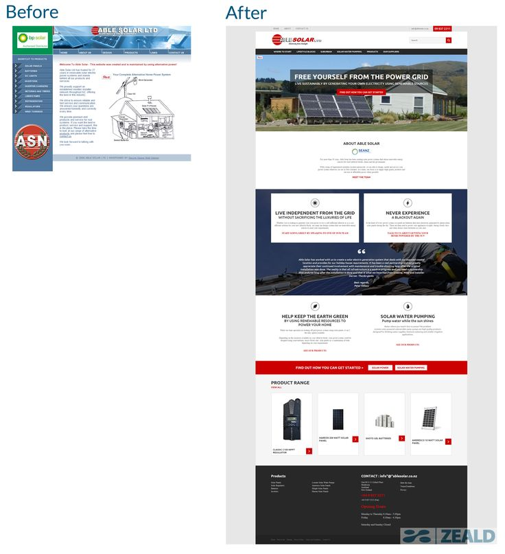 Able Solar - The art and science of good #websitedesign #website #websiteredesign #webdesign #designinsperation #rethinkyourwebsite #layout #redesign #redesignideas #redesigninspiration #creative #landingpages #beforeafter #responsive #leadgeneration #ecommerce