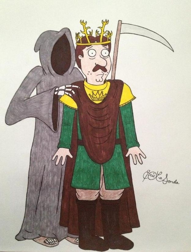 Bruce (Renly Baratheon) | If The Cast Of 'Family Guy' Were In 'Game Of Thrones'