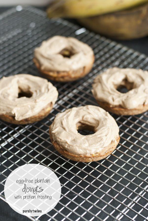 grain free gluten free plantain donuts