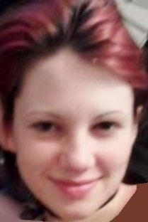 """SERENA FRUSH, 17, GAITHERSBURG, MD 5/14/12      ** BELIEVED TO BE WITH ADULT MALE  SEX:  Female  RACE:  White  HAIR:  Dyed burgundy red, shoulder length  EYES:  Hazel  HEIGHT:  5'01""""  WEIGHT:  93 lbs  PIERCED ears  WEARING:  Black shirt, blue jeans, black flip flops    VEHICLE: Turquoise Chevrolet Minivan  Ohio tag:  Unknown    CONTACT:  911  Montgomery County Police Department 301-279-8000  Maryland Center for Missing Children 1-800-MDS-KIDS (1-800-637-5437)"""