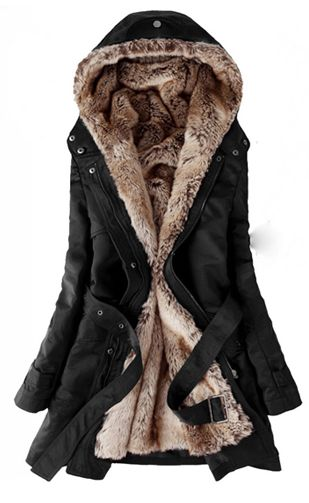 I told my husband that if I had this coat, I would just curl up in it and never come out.