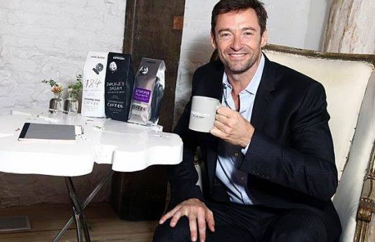 green design, eco design, sustainable design, Hugh Jackman, Laughing Man Coffee, Laughing Man Worldwide, charitable coffee, David Steingard