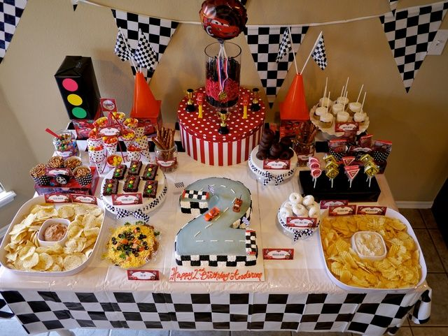 """Photo 2 of 80: Disney Cars / Birthday """"Anderson's 2nd Birthday Party!"""" 