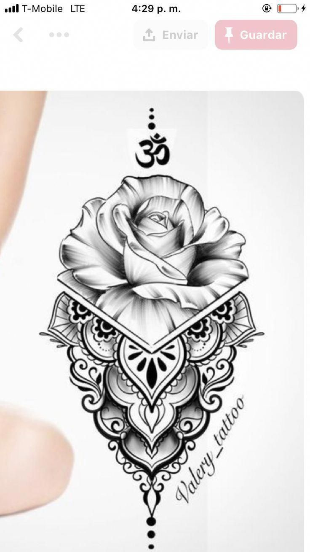 Hand Mandala Tattoo Mandalatattoo In 2020 Tattoo Motive Vorlagen Tatowierungen Rosen Tattoo Frau