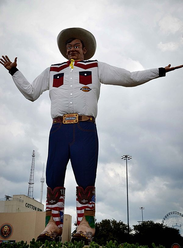 Article Meet The New Big Tex A State Fair Of Texas Icon