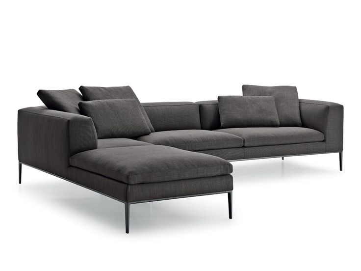 B&B Italia Michel Corner Sofa by Antonio Citterio - Chaplins
