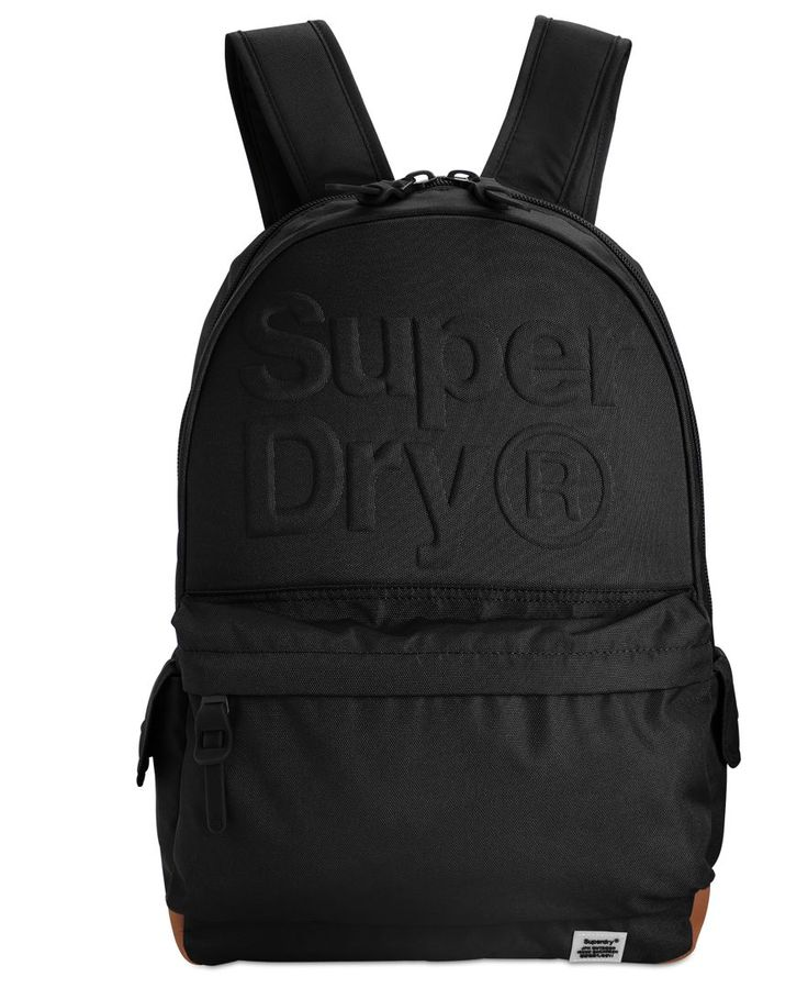 Superdry Lineman Embossed Montana Backpack