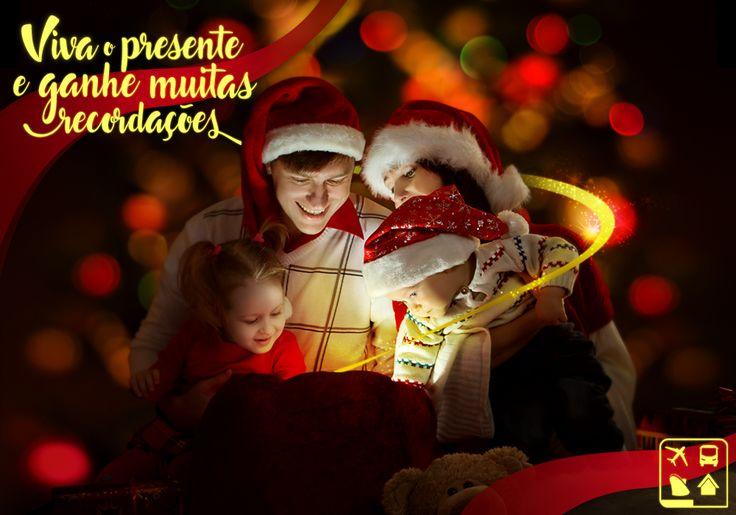 Publicação - Feliz Natal para todos os viajantes do Brasil! E lembrem-se, o verdadeiro presente é a dádiva da vida! Felicidades!
