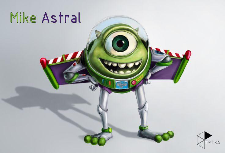 Fan-art: Mike Astral