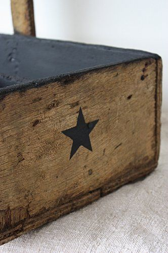 DIY ★Hand Made Gifts, Stencils Stars, Stars Stamps, Diy Fashion, Decorating Ideas, Diy Gifts, Wooden Boxes, Handmade Gifts, Diy Handmade