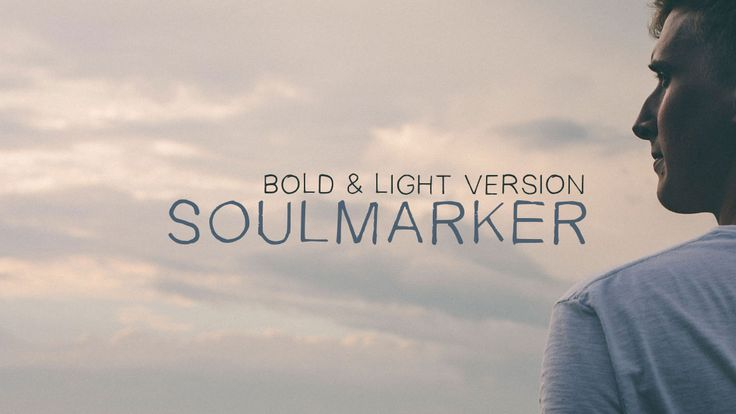 Free handwriting font: SoulMarker