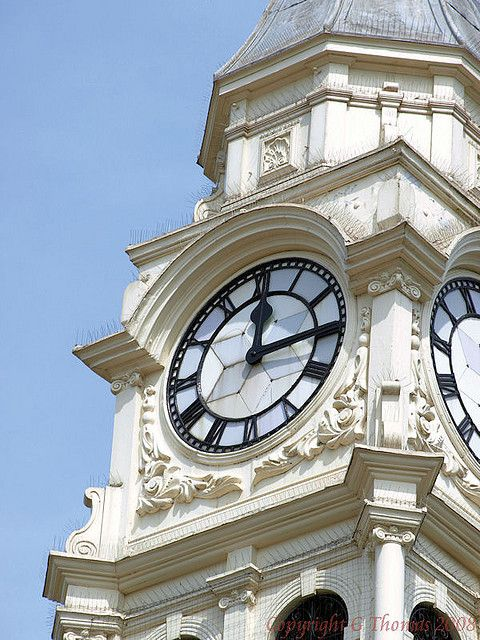 Ossett Town Hall Clock 3 | by gedtee - Yorkshire