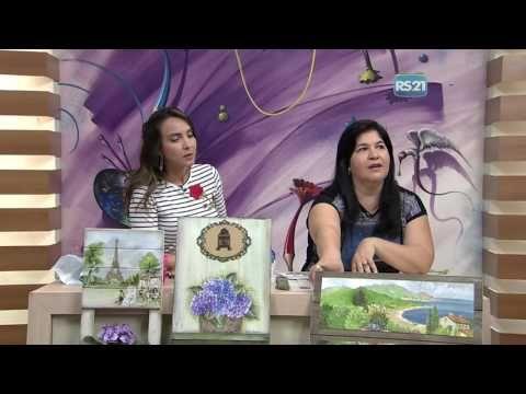 Quadro com ganchos por Célia Bonomi -  20/03/2017 - Mulher.com  P1 - YouTube