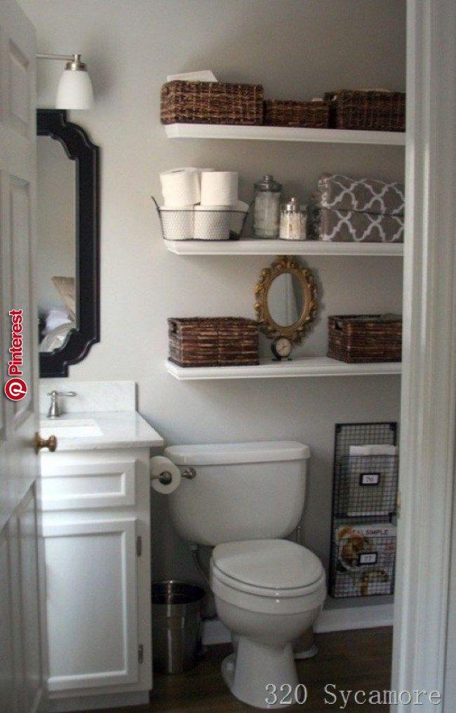 wie findest du dieses Bad?   Kleines bad dekorieren ...