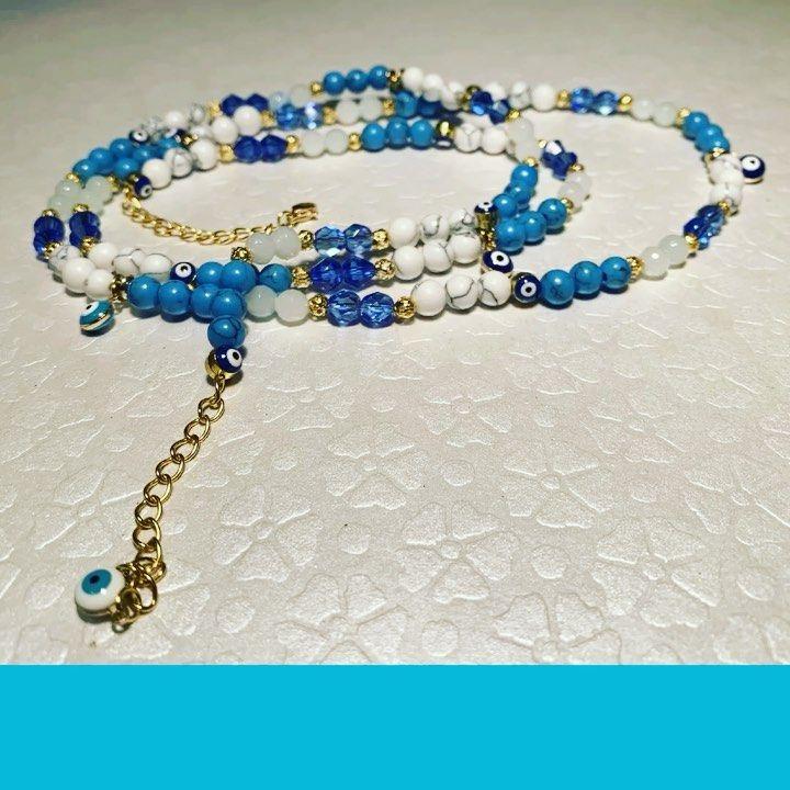 Evil Eye Waist Beads
