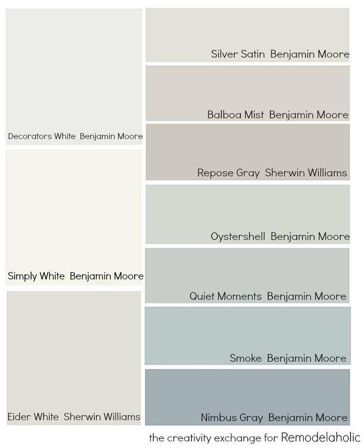как выбрать цвет стен, белый и др нейтральные оттенки в зависимости от освещенности
