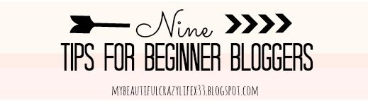 9 Tips for Bloggers