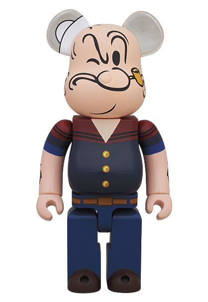MEDICOM TOY - BE@RBRICK DRX NAVY POPEYE THE SAILOR MAN 400%