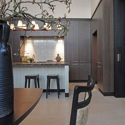 In collaboration with Vonder bespoke joinery services, Kate Hume and Frans van der Heijden havedesigned a luxury lifestyle collection.  Kitchen, dressing rooms, library and furniture are all made to measure in Kate's signature colours and tactile surfaces.