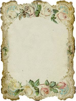 lovely ornate floral frame, follow the link to see some other useful graphics too