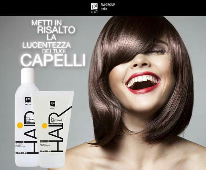 Linea gialla #fmgroupitalia Capelli secchi e danneggiati Shampoo e balsamo da euro 8,20 Chiamami