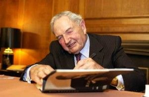 The death of David Rockefeller, the de facto Patriarch of the American establishment, at age 101, is being greeted by establishment media with praise for his alleged philanthropy. I would like to contribute to a more honest picture of the person.