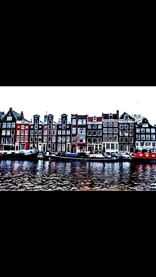 Canal trip, Amsterdam 2014