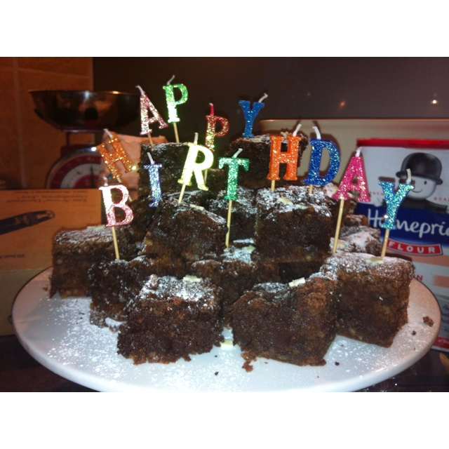 244 best Bday Ideas images on Pinterest Birthday brownies
