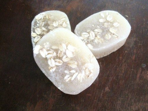 Oatmeal breast milk soap- natural healing for baby eczema and other skin conditions