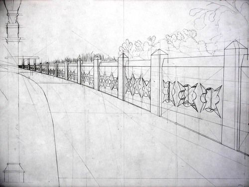 Architectural Drawings Of Bridges 15 best perspective images on pinterest | 1 point perspective