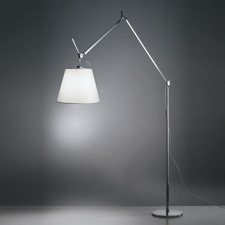 Perfekt Tolomeo Mega Tavoloterraparete Estructura Lampara Con Regulador De  Intensidad Luminosa Aluminio (0778010A)   Artemide