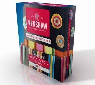 5-pack med färger i neon-nyanser! 100g/färg: Fuchsia, Lime, Turkos, Gul samt Orange. Superbra om du bara vill ha lite av varje färg!