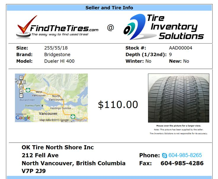 Our Mission...To help tires sellers save money through more efficient day to day operations and help them maximize the value of their inventory. To help buyers find the tires they need quickly and easily at the prices they want. http://tireinventorysolutions.com/