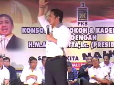 Pidato Politik Presiden PKS Anis Matta, Lc di Bali 12 Februari 2013.