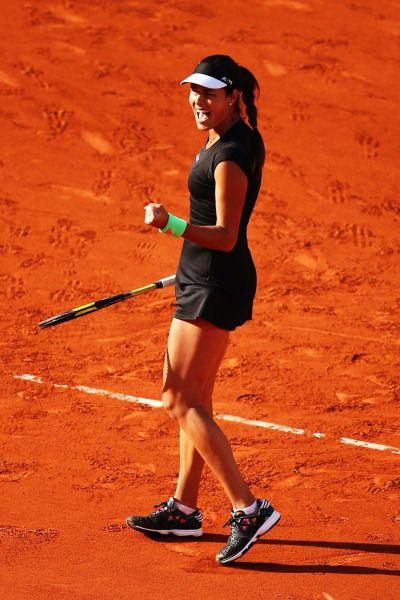 Day 1 French Open 2015 - Ana Ivanovic (Serbia) beat Yaroslava Shvedova (Kazakhstan) 4-6 6-2 6-0