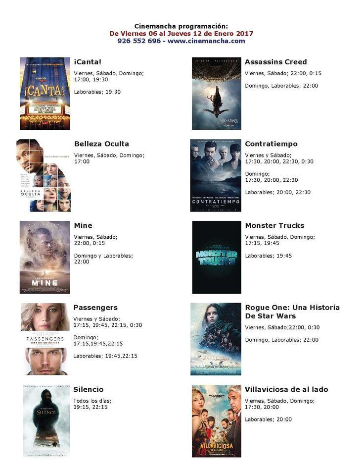 Cartelera Cinemancha del viernes 06 al jueves 12 de enero - https://herencia.net/2017-01-06-cartelera-cinemancha-del-viernes-06-al-jueves-12-enero/?utm_source=PN&utm_medium=herencianet+pinterest&utm_campaign=SNAP%2BCartelera+Cinemancha+del+viernes+06+al+jueves+12+de+enero