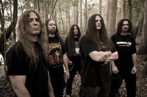 Cannibal Corpse, prolific American death metal.