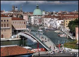 Billedresultat for calatrava bridge venice