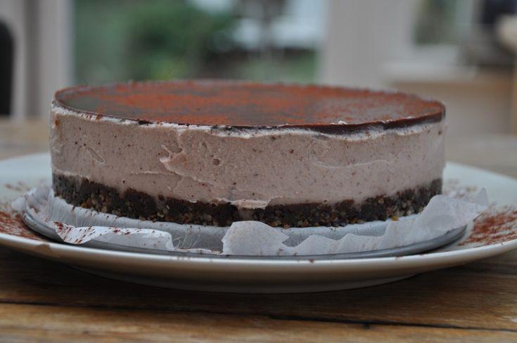 choco  nut taart : paleo