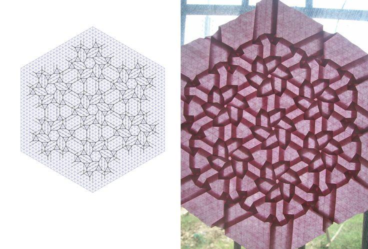 Este es mi humilde espacio: ¿Que es origamisticamente hablando un teselado?