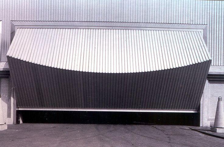 Santiago Calatrava, Garage Doors, Coesfeld-Lette, Germany, c 1980 - küchen stall coesfeld