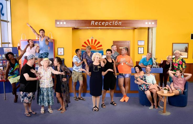 What time is Benidorm on ITV tonight whos in the cast with Sherrie Hewson and Jake Canuso and what happens in series nine?