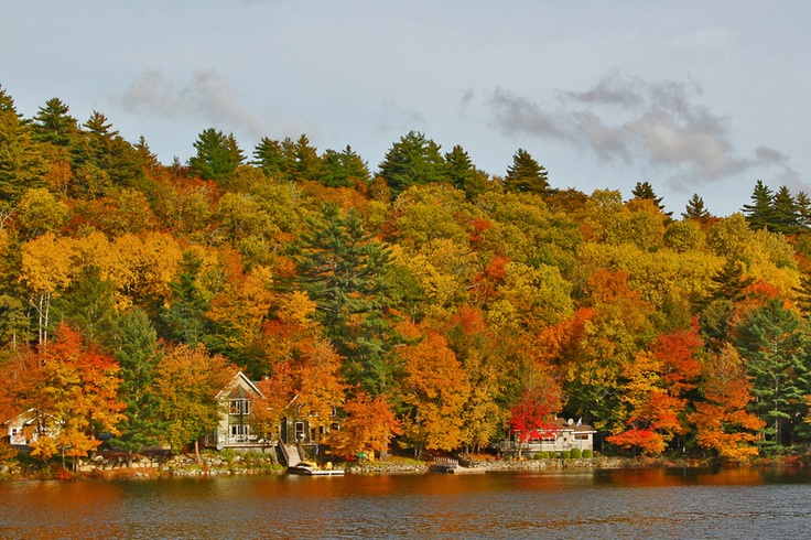 Kejimkujik Scenic Drive, an adventure in colour this time of the year. This is Cameron Lake, Queens County, Nova Scotia.