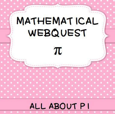 Celebrate Pi Day with this Webquest and Word Search!