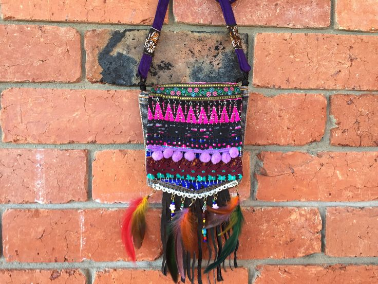 A personal favourite from my Etsy shop https://www.etsy.com/au/listing/537635629/bohemian-sling-bag-tribal-medicine-hobo