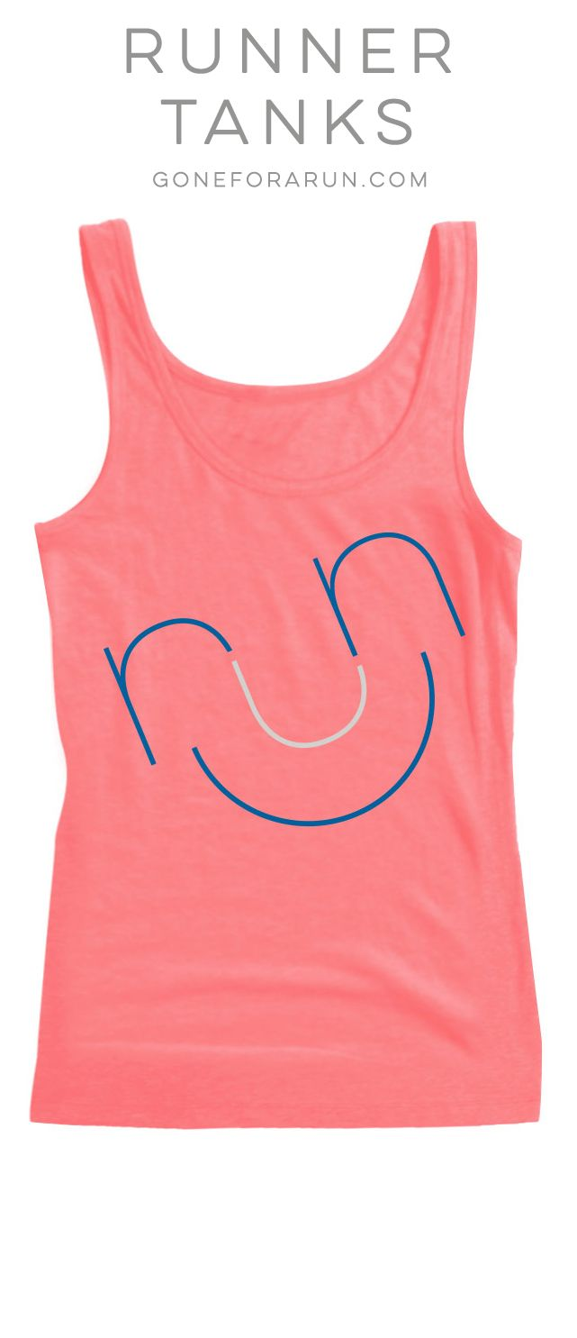 Run :) Light weight running tanks perfect for summer running!