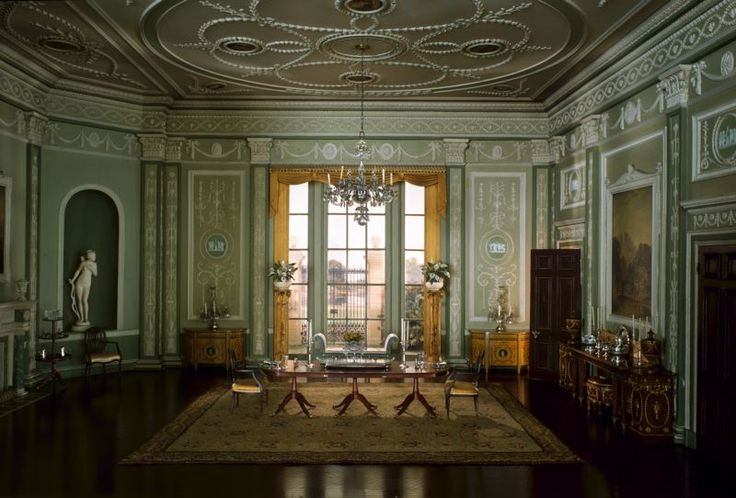 English Dining Room of the Georgian Period, 1770-90 [miniature rooms]